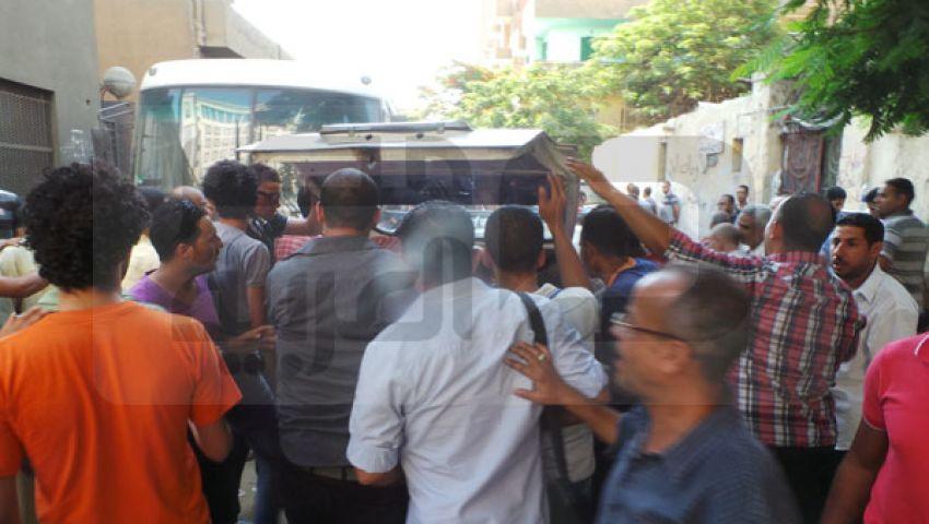 بالصور..مشرحة زينهم تستقبل قتلى موقعة الحرس الجمهوري