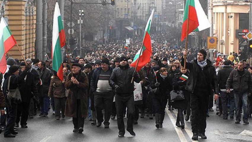 تظاهرات احتجاجية في بلغاريا للأسبوع الخامس
