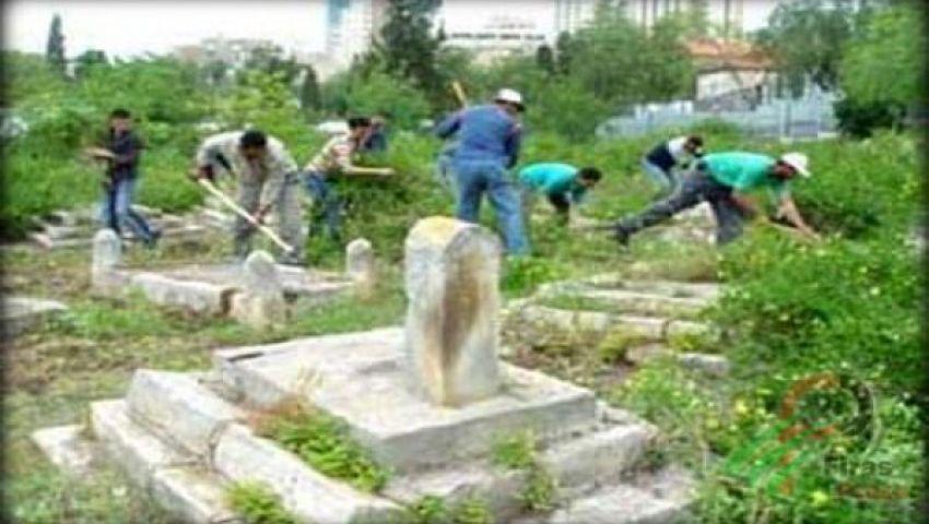 جماعة يهودية تقتحم مقبرة إسلامية بالقدس
