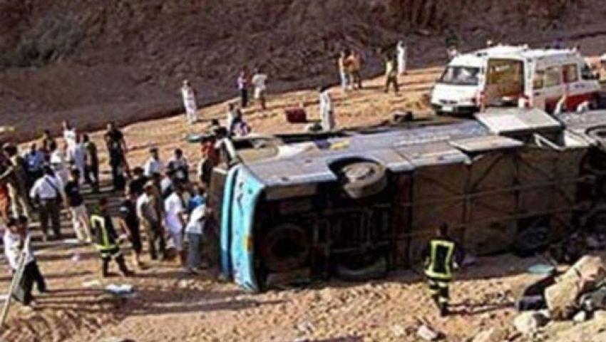 إنقاذ 46 راكبًا من الموت حرقًا في أتوبيس بالغردقة