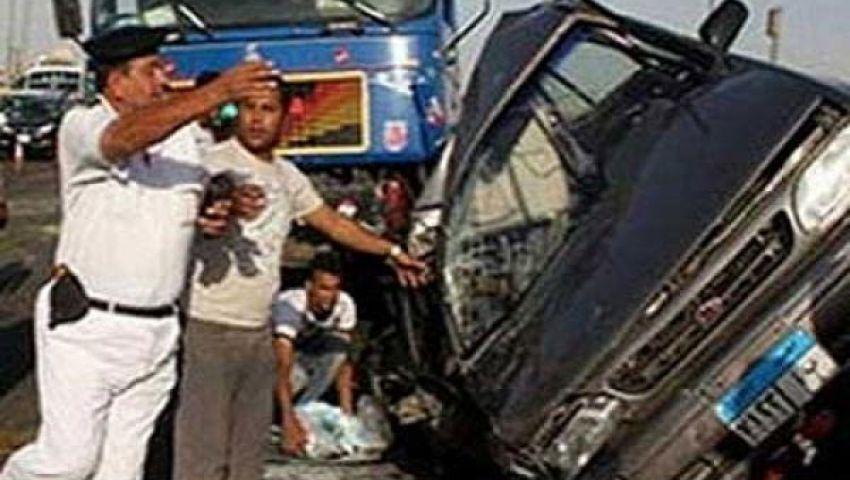 مصرع وإصابة 4 شرطيين ببني سويف