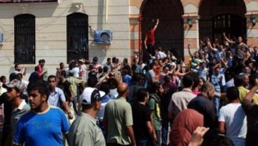 ضابط أمن مركزي ينضم لمتظاهري المنوفية ضد مرسي