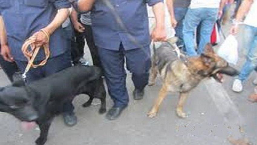 كلاب بوليسية لتأمين زيارة الدميري لميناء الإسكندرية