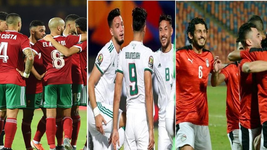 ما موقف المنتخبات العربية في تصفيات الأمم الأفريقية؟
