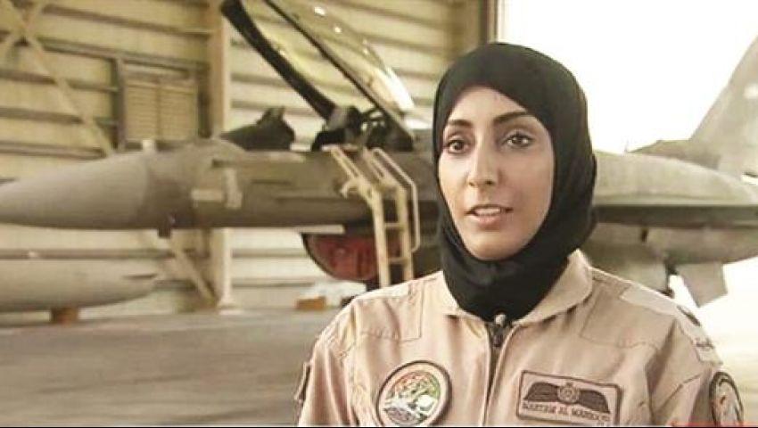 فيديو.. سيدة إماراتية تشارك في قصف داعش