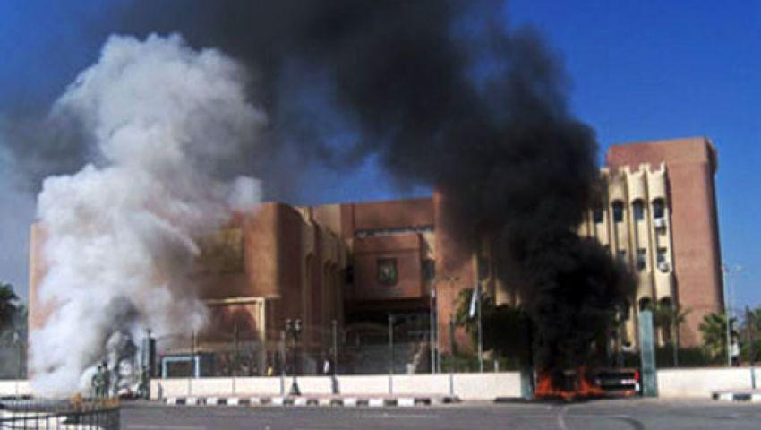 11 قتيلا و17 مصابا حصيلة تفجير مقر المخابرات برفح
