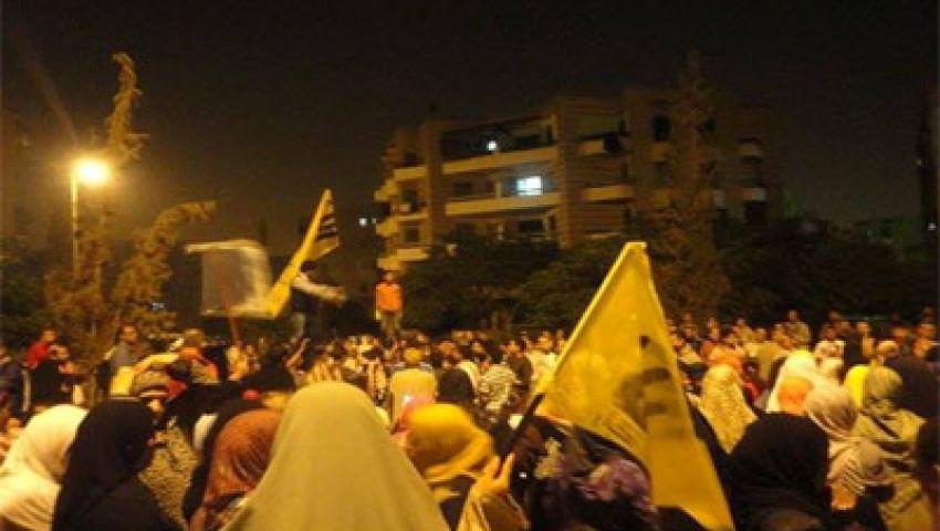 فيديو.. هتافات رابعة تسيطر على مسيرة بالفيوم
