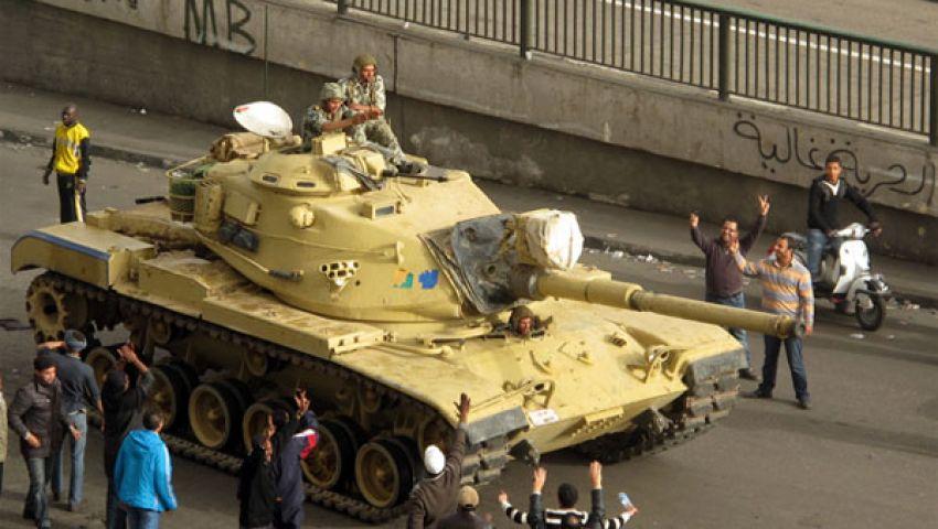 دبابات مصرية تنتشر على حدود غزة