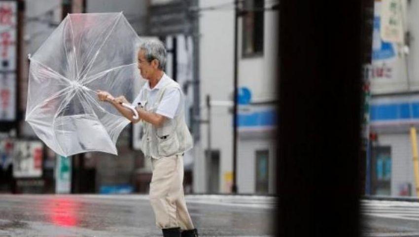 اليابان.. إعصار فاكساي يودي بحياة 3 أشخاص