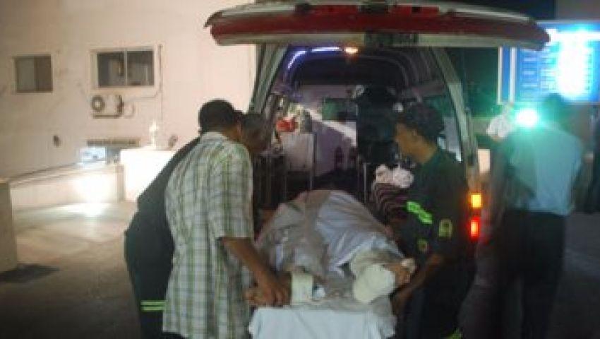12 مصابًا فى انقلاب سيارة بطريق «القاهرة - الفيوم»