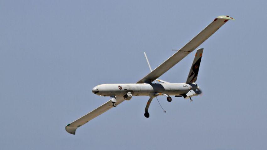 سقوط طائرة إسرائيلية بدون طيار جنوبي قطاع غزة