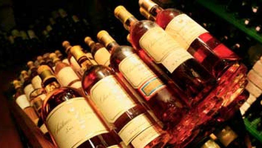 ضبط مخزن للخمور والمواد الكحولية بـ رأس غارب