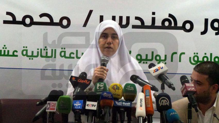 ابنة مرسي تحمّل السيسي مسئولية اختطاف والدها