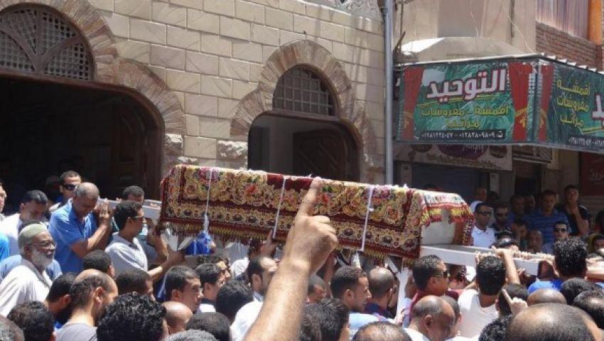 نجوم الأهلي في جنازة فقيد الإسماعيلي