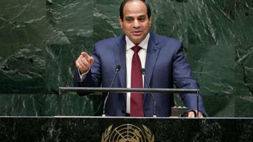مؤيدو السيسي: خطابه الأممي تاريخي.. ومعارضوه: لم يكسبه شرعية