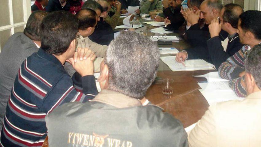 اجتماع نقابات الغربية لعزل رئيس مصر الديمقراطي
