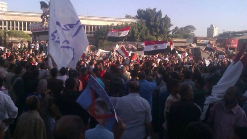 فيديو.. 50ألفًا يتظاهرون دعمًا لمرسي في الشرقية