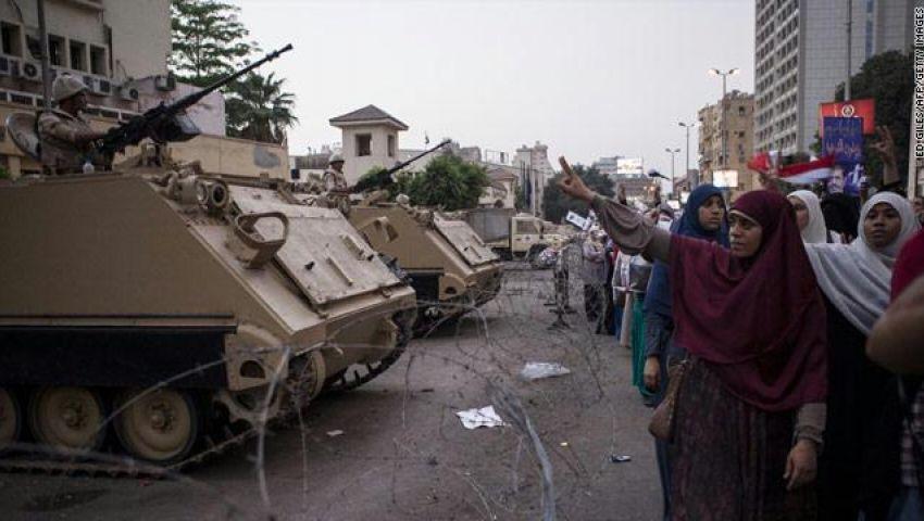 العفو الدولية تدعو للتحقيق في قتل الأمن لمؤيدي مرسي