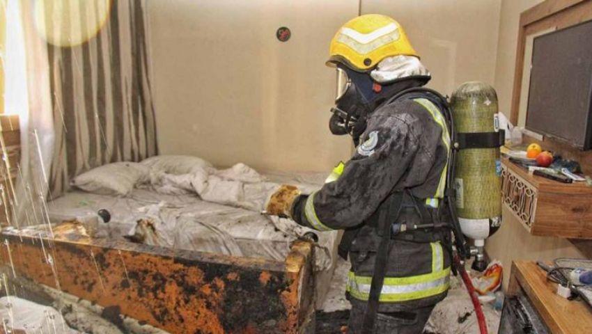 حريق في فندق بمكة.. وإجلاء 700 معتمر