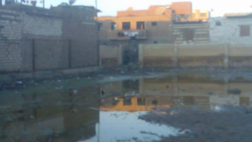 قرى غرب بني سويف في النازل والمجاري في الطالع