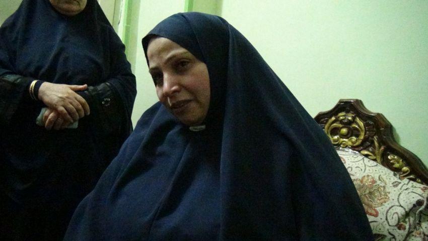 والدة الشهيدة ميادة: كان نفسى أحضر فرحها مش جنازتها