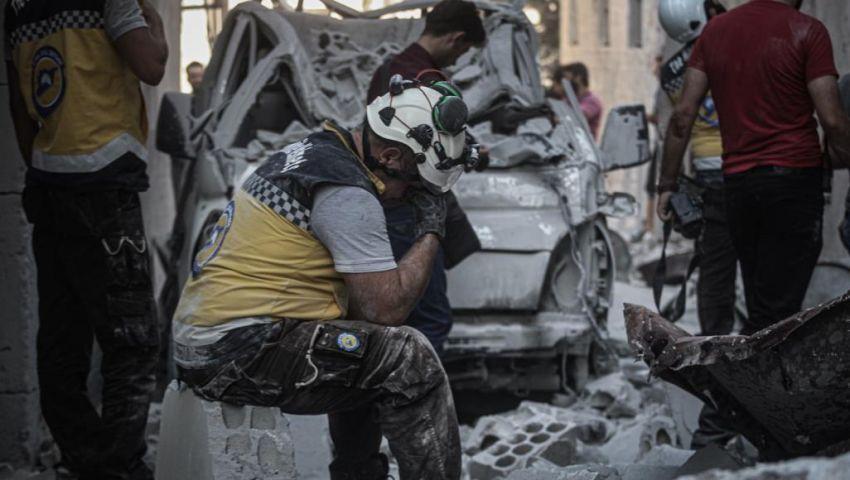 فيديو: يوم دام في إدلب.. أشلاء الأطفال تتناثر في «عاصمة المهجرين»