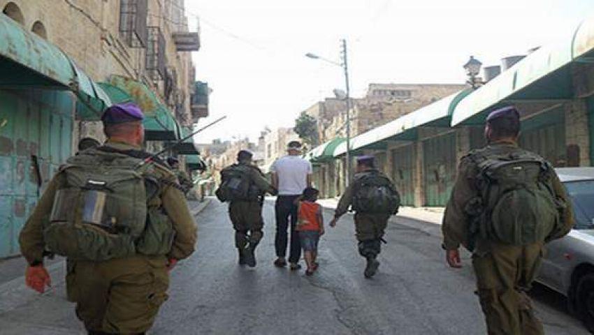 فيديو..الاحتلال الإسرائيلي يعتقل طفلاً فلسطينياً عمره خمس سنوات