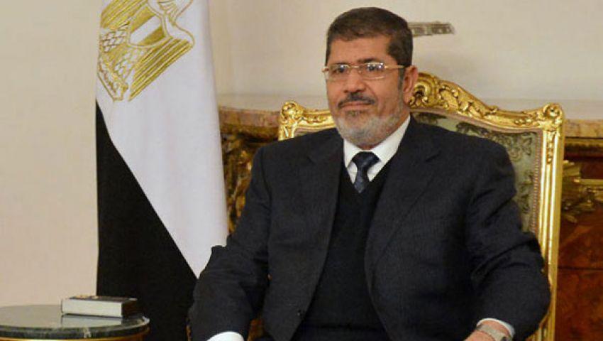 مرسي لمؤيديه: احرصوا على السلمية.. ولا حوار مع  الانقلاب