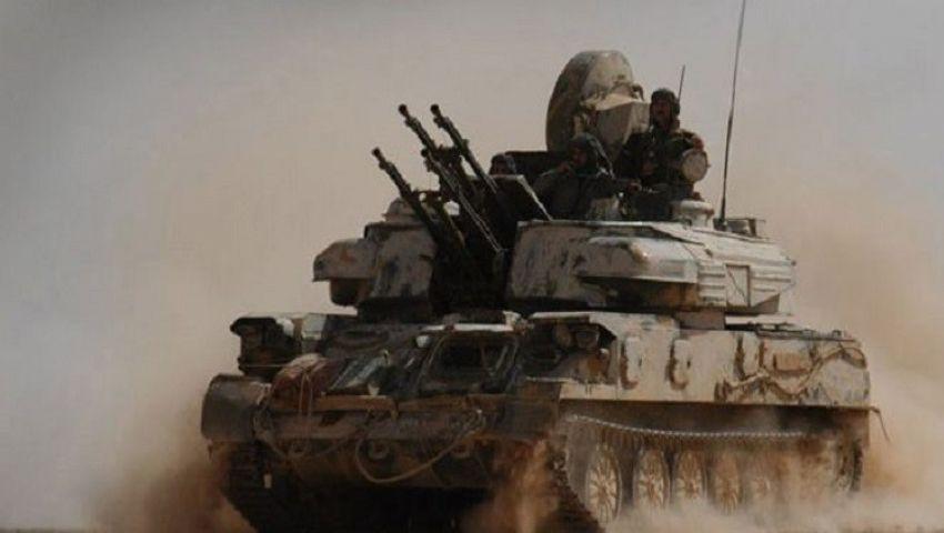 اشتباكات عنيفة بين الجيش السوري والمعارضة المسلحة في ريف مدينة حماة