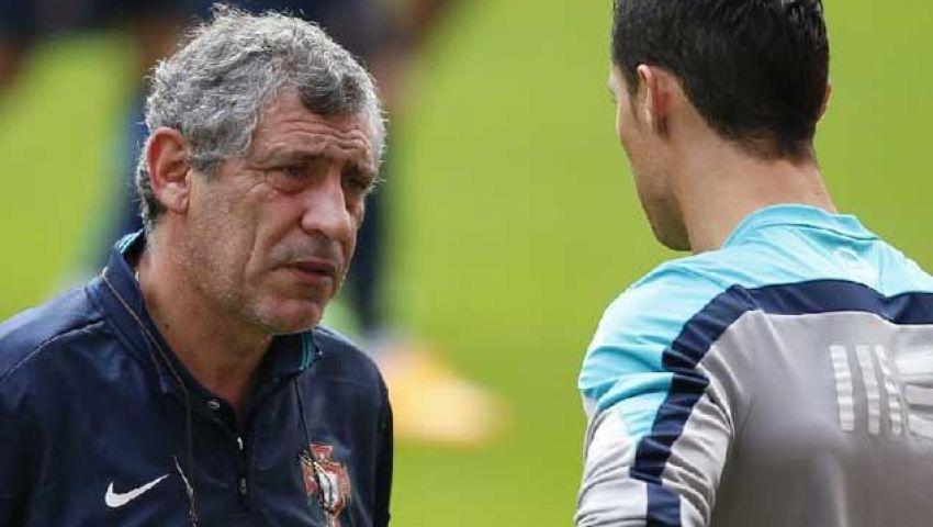 سانتوس يكشف سر نجاح رونالدو مع البرتغال