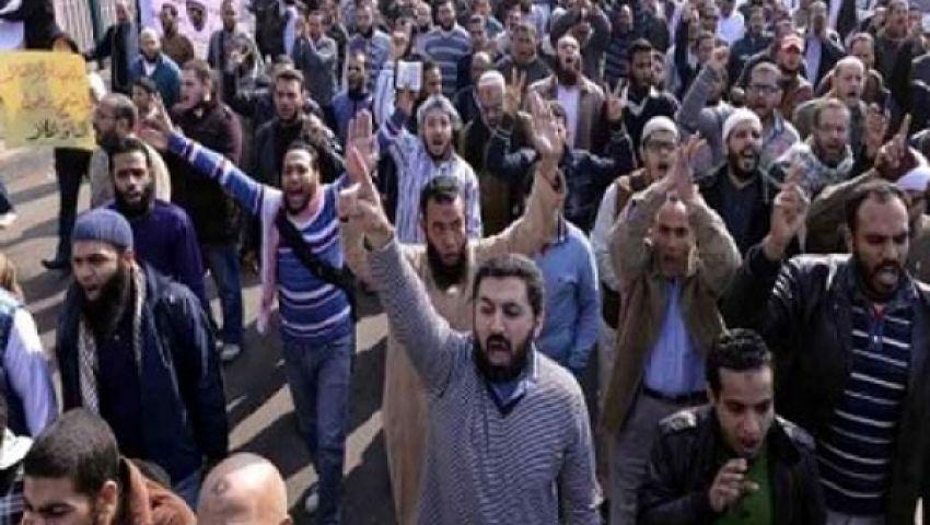 بدء توافد المتظاهرين على رابعة العدوية