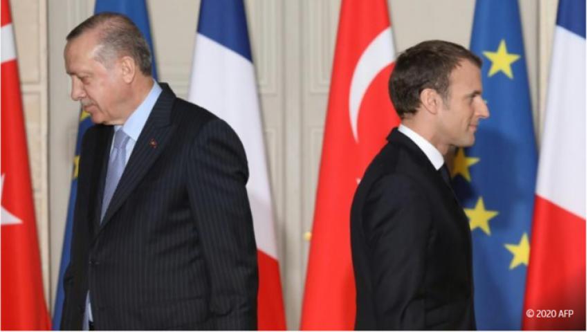 صحيفة ألمانية: كاريكاتير أردوغان الجنسي يفاقم صراع تركيا وفرنسا
