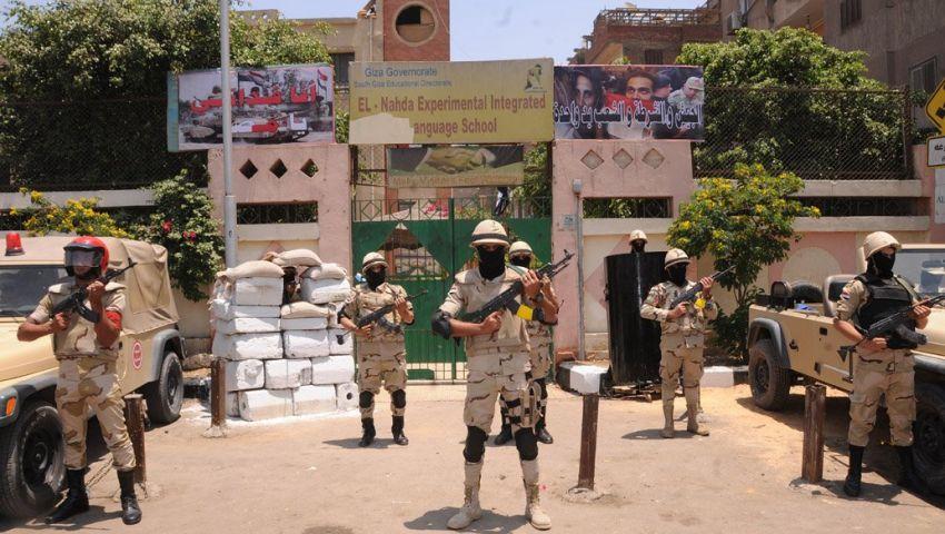 فيديو| تصوير جوي وبث مباشر.. هكذا استعدت القوات المسلحة لتأمين الاستفتاء