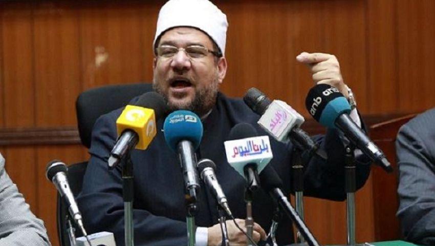وزير الأوقاف يعلنتحرير محاضر للمتسولين على أبواب المساجد