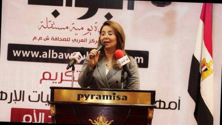 غادة والي في تكريم أسر الشهداء: مصر عصية على الانكسار وقوية بأبنائها