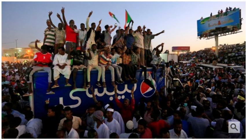 زوددويتشه: الأموال لم تستطع شراء ثوار السودان