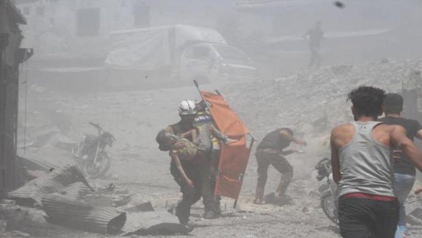 إدلب تحتضر.. قصف جديد يستهدف المدنيين وعشرات الضحايا