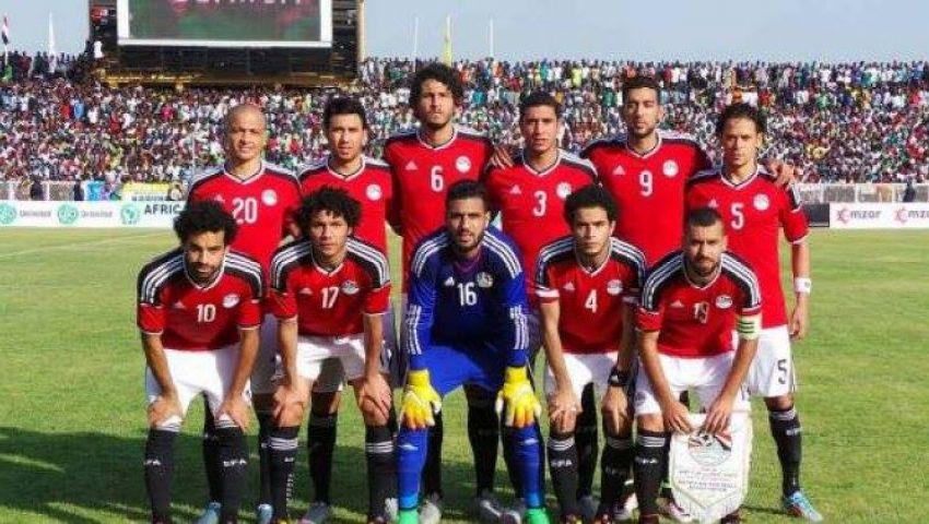 الشوط اﻷول| التعادل السلبي يسيطر على لقاء مصر وتوجو