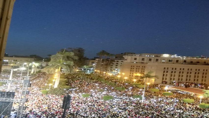 بالصور| خلال حفل «حماقي».. رئيس جامعة القاهرة يعلن3 مفاجأت للطلاب والعاملين