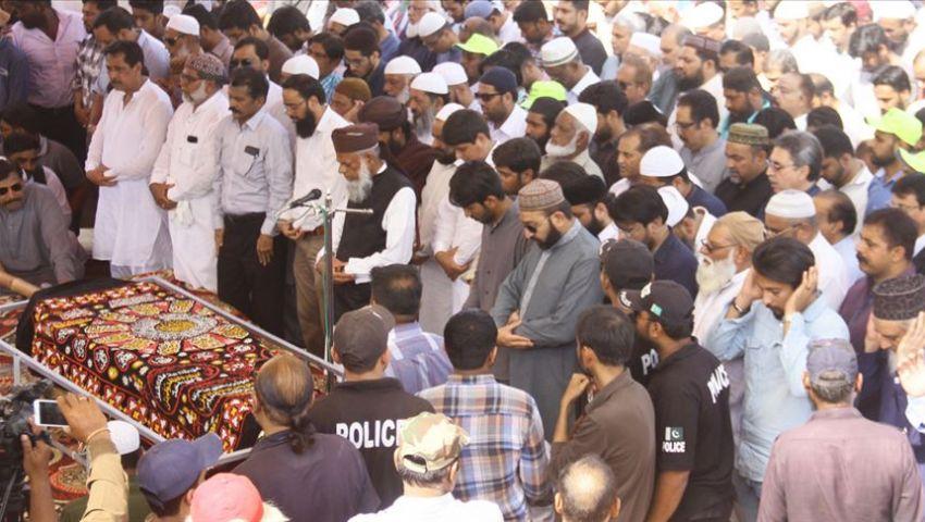 باكستان.. الآلاف يشيعون جنازة أحد ضحايا هجوم نيوزيلندا الإرهابي