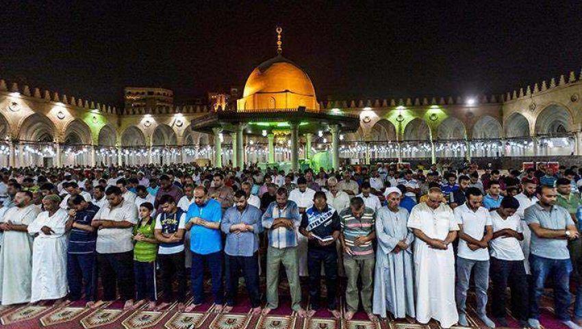 تراويح رمضان.. روحانيات في مساجد القاهرة القديمة