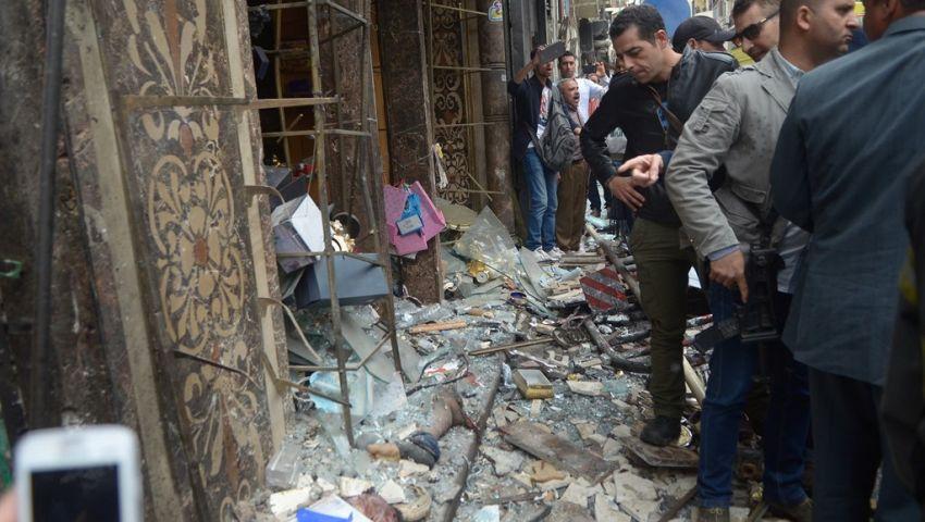 إعلان الحداد 3 أيام على ضحايا تفجير كنيستي طنطا والإسكندرية