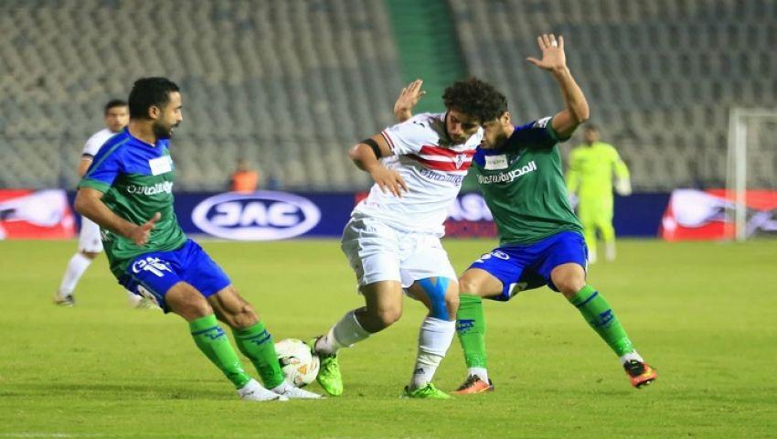 نقل مباراة الزمالك والمقاصة إلى ملعب برج العرب
