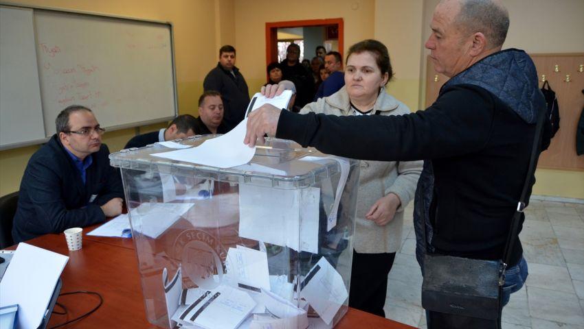 بالصور  بلغاريا.. الناخبون يتوجهون لصناديق الاقتراع