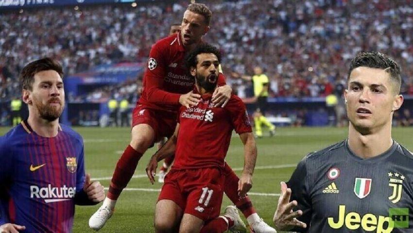 قائمة أفضل لاعب في أوروبا تحمل مفاجأة تاريخية