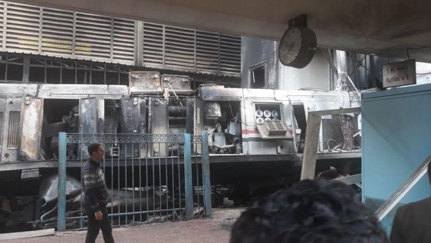 النائب العام يكشف سبب وقوع حادث قطار محطة مصر