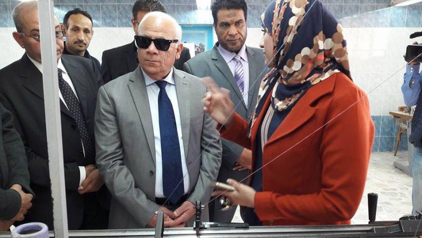 محافظ بورسعيد: طلاب المدارس الفنية يمثلون عماد الاقتصاد الوطنى