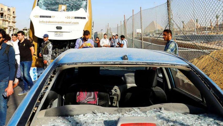 انفجار حافلة الأهرامات.. هل يؤثر على تنظيم مصر لأمم إفريقيا؟