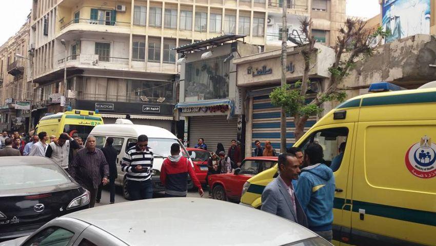 11 قتيلا و40 مصابا في تفجير الكنيسة المرقسية بالإسكندرية
