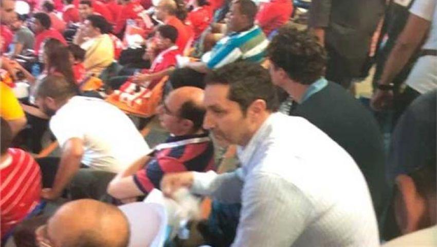 صور| كواليس حرمان علاء مبارك من حضور مباريات كأس الأمم الأفريقية